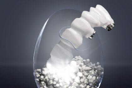 BioHPP – nowy biomateriał nadefinitywne konstrukcje bionicznych łączników indywidualnych orazstruktur implantoprotez stałych iruchomych.